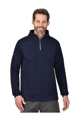 Trigema Reißverschluss-Sweater kaufen