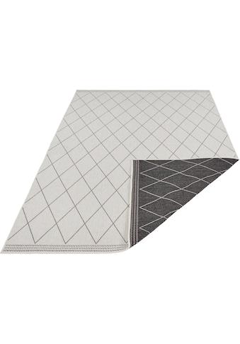 freundin Home Collection Teppich »Daisy«, rechteckig, 5 mm Höhe, In- und Outdoor geeignet, Wendeteppich, Wohnzimmer kaufen