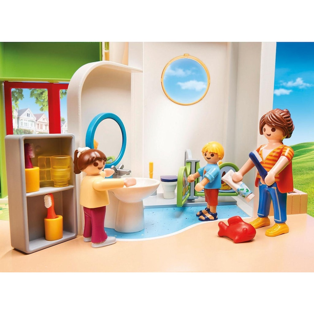 Playmobil® Konstruktions-Spielset »KiTa Regenbogen (70280), City Life«, (180 St.), Made in Germany