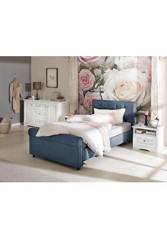 Home affaire Polsterbett »Goronna«, in 5 verschiedenen Farben und 4 Breiten kaufen