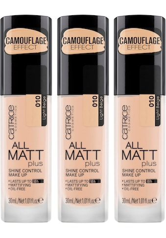 "Catrice Make - up ""All Matt Plus Shine Control"", 3er - Pack kaufen"