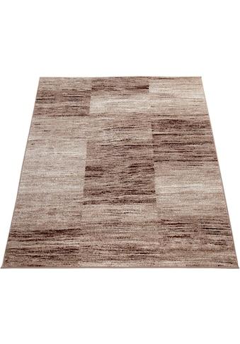 Paco Home Teppich »ECE 917«, rechteckig, 14 mm Höhe, Kurzflor, Karo Design, Wohnzimmer kaufen