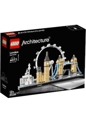 """LEGO® Konstruktionsspielsteine """"London (21034), LEGO® Architecture"""", Kunststoff, (468 - tlg.) kaufen"""