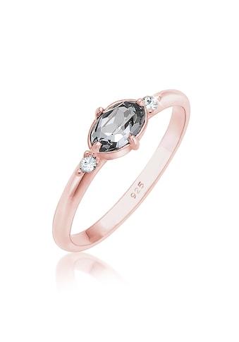 Elli Fingerring »Bandring Swarovski Kristalle 925 Silber« kaufen