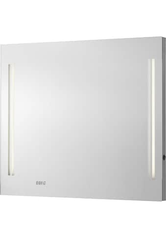 FACKELMANN Badspiegel »LG 80«, mit Uhr kaufen