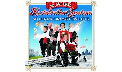 Musik-CD »25 Jahre Kastelruther Spat / Kastelruther Spatzen« kaufen