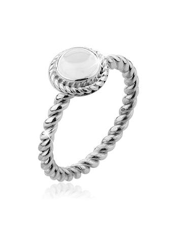 Nenalina Fingerring »Bergkristall Geburtsstein April Trend 925 Silber« kaufen