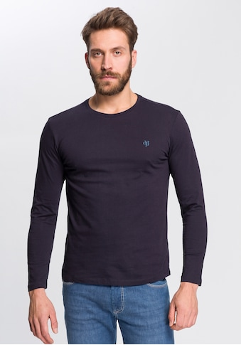 Marc O'Polo Langarmshirt »Logo - Druck« kaufen