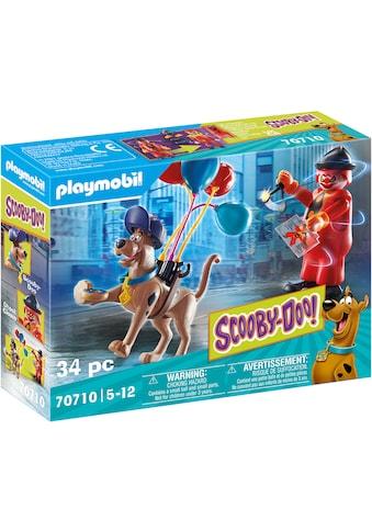 Playmobil® Konstruktions-Spielset »SCOOBY-DOO! Abenteuer mit Ghost Clown (70710),... kaufen