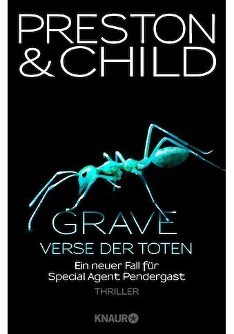 Buch »Grave - Verse der Toten / Douglas Preston, Lincoln Child, Michael Benthack« kaufen