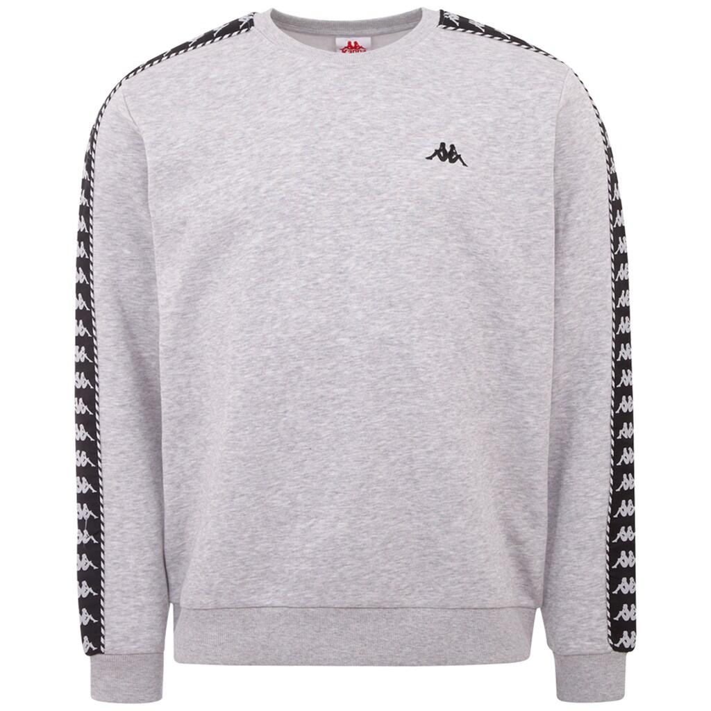 Kappa Sweatshirt »ILDAN«, mit hochwertigem Jacquard Logoband an den &Auml;rmeln<br />