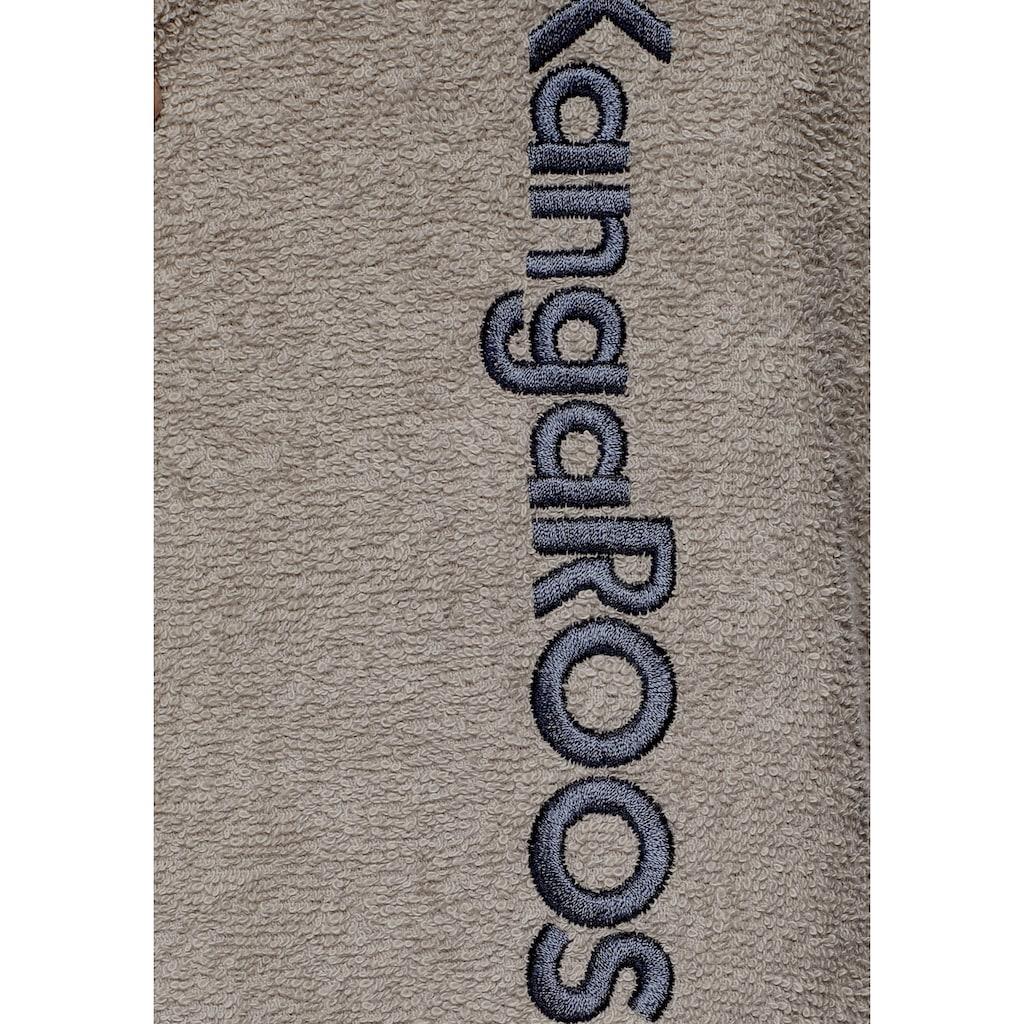 KangaROOS Unisex-Bademantel »Henry«, mit Kimonokragen und Logostickerei