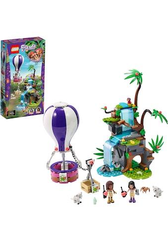 """LEGO® Konstruktionsspielsteine """"Tiger - Rettung mit Heißluftballon (41423), LEGO® Friends"""", Kunststoff, (302 - tlg.) kaufen"""