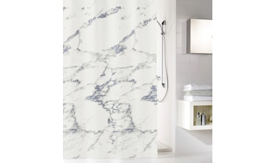 Kleine Wolke Duschvorhang »Marble«, Breite 120 cm, (1 tlg.), Höhe 200 cm, mit Beschwerungsband kaufen