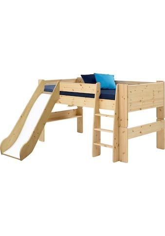 STEENS Spielbett »FOR KIDS«, mit Leiter und Rutsche, in verschiedenen Farben kaufen