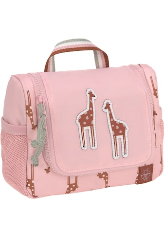 LÄSSIG Kulturbeutel »Safari Giraffe, rosa« kaufen