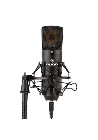 Auna USB Kondensator-Mikrofon Studio USB Großmembran-Mikrophon »MIC-920-B« kaufen