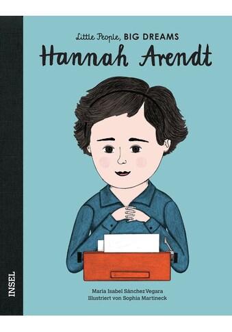 Buch »Hannah Arendt / María Isabel Sánchez Vegara, Sophia Martineck, Svenja Becker« kaufen