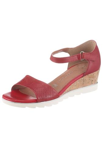 MARCO TOZZI Sandalette, mit regulierbarem Klettverschluss kaufen