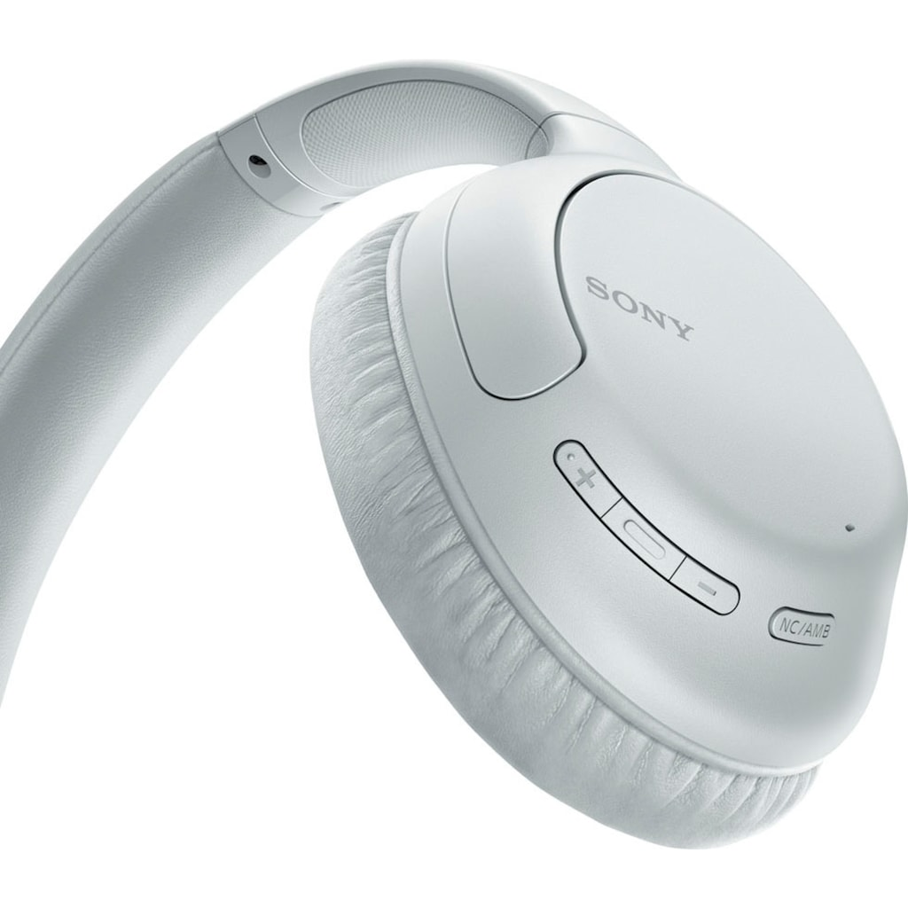 Sony Over-Ear-Kopfhörer »WH-CH710N Kabellose Noise Cancelling«, Bluetooth-NFC, Noise-Cancelling-kompatibel mit Siri, Google Now-Freisprechfunktion