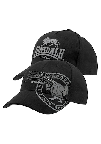 Lonsdale Baseball Cap, (Packung, 2 St.) kaufen