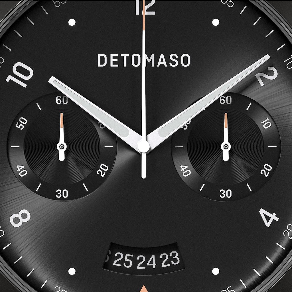 DETOMASO Chronograph »SORPASSO QUARZUHR LIMITED EDITION BLACK«