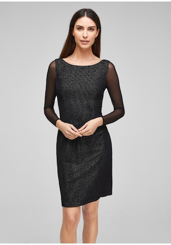 s.Oliver BLACK LABEL Samtkleid kaufen