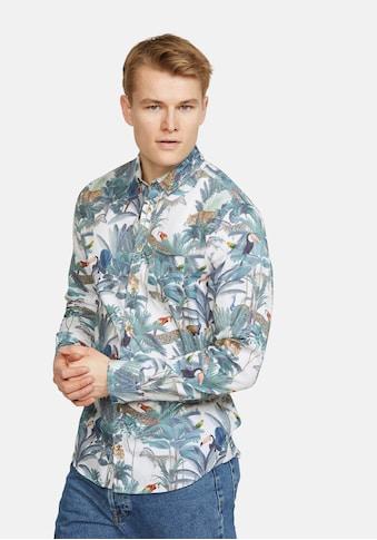 colours & sons Langarmhemd »Alexander«, mit Button-Down-Kragen kaufen