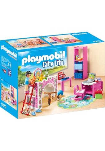 Playmobil® Konstruktions-Spielset »Fröhliches Kinderzimmer (9270), City Life«, Made in Germany kaufen
