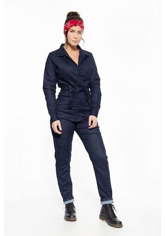 QueenKerosin Overall, aus robustem Jeansgewebe kaufen