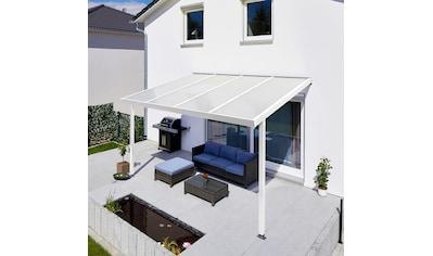 GUTTA Terrassendach »Premium«, BxT: 410x306 cm, Dach Acryl Klima blue kaufen