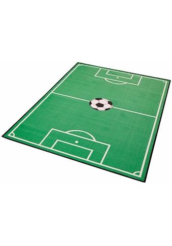 Kinderteppich, »Fußballfeld 1«, Zala Living, rechteckig, Höhe 8 mm kaufen