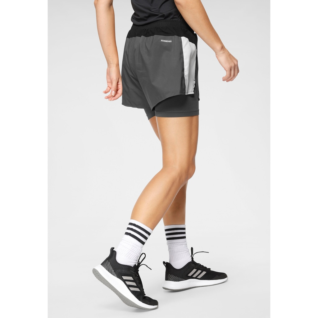 adidas Performance 2-in-1-Shorts »DESIGNED TO MOVE SHORTS«