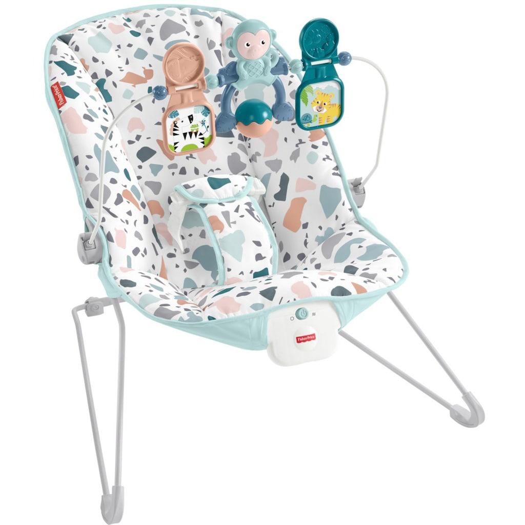 Fisher-Price® Babywippe »Basis«, bis 9 kg, elektrisch, mit Vibration und Spielbügel