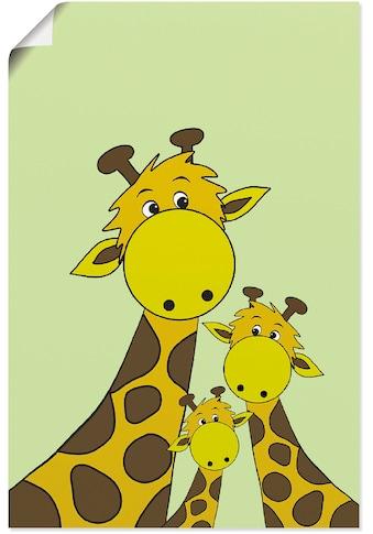 Artland Wandbild »Giraffen« kaufen