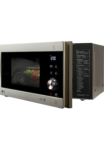 LG Mikrowelle »MH 6565 CPS«, Grill, 1000 W, Smart Inverter Technologie, echte Glasfront kaufen