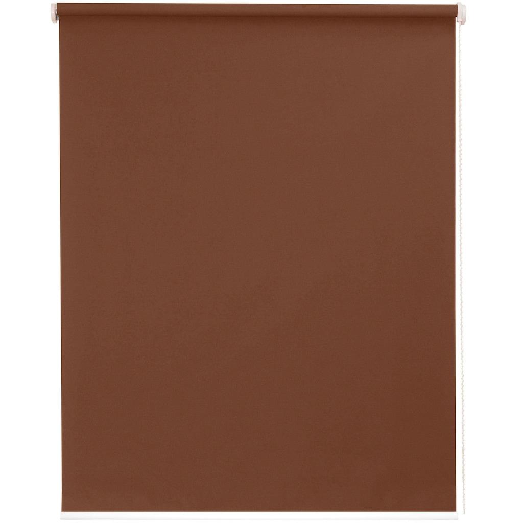 sunlines Seitenzugrollo »One size Style Kupfer«, verdunkelnd, freihängend, Made in Germany