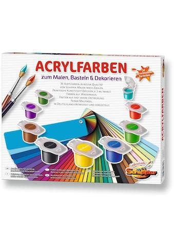 Schipper Malen nach Zahlen »Malen nach Zahlen - 36 Acrylfarben«, Made in Germany kaufen