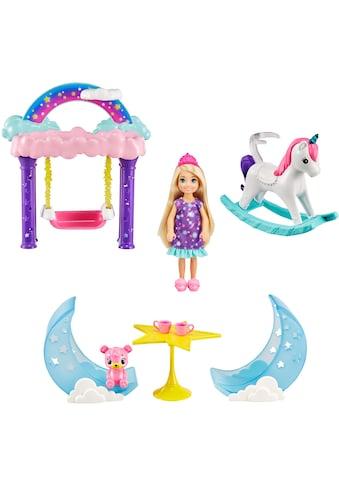 Mattel® Puppenhaus »Barbie, Dreamtopia, Chelsea Feen-Baumhaus-Spielset«, inkl. Chelsea-Puppe und Teddybär kaufen