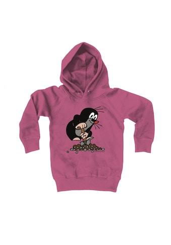 LOGOSHIRT Kapuzensweatshirt mit tollem Print »Der kleine Maulwurf« kaufen