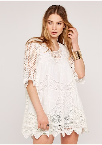 Apricot Tunikakleid »Guipure Lace Cover Up Tunic«, mit Spitze kaufen
