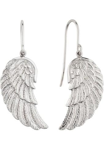 Engelsrufer Paar Ohrhaken »Where the angels fly, OHRHÄNGER FLÜGEL SILBER, ERE-WING« kaufen