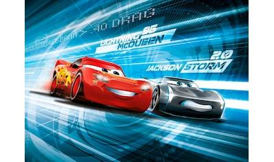 Komar Fototapete »Cars3 Simulation«, bedruckt-Comic, ausgezeichnet lichtbeständig kaufen