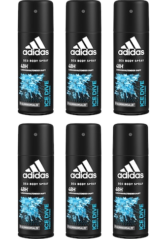 "adidas Performance Deo - Spray ""Ice Dive"", Spar - Set 6 - tlg. kaufen"