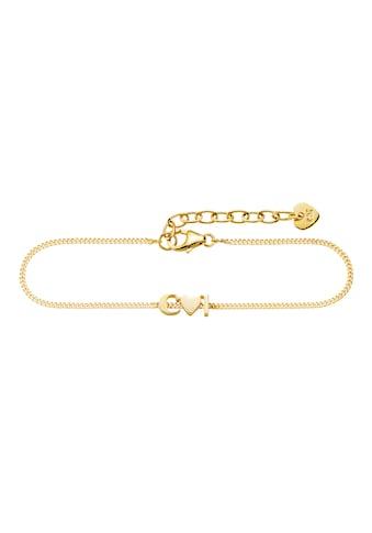 "CAÏ Silberarmband »925/- Sterling Silber vergoldet ""cai""«, Armband kaufen"