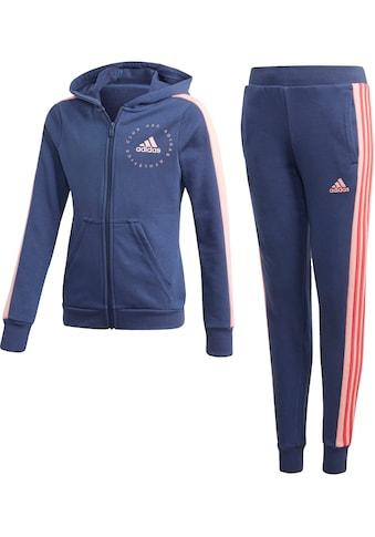 adidas Performance Jogginganzug »JOUNG GIRL HOOD COTTON TRACKSUIT« (Set, 2 tlg.) kaufen