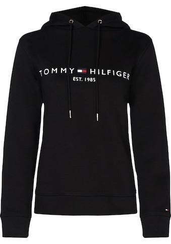 TOMMY HILFIGER Kapuzensweatshirt »TH ESS HILFIGER HOODIE LS« kaufen
