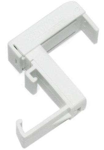 GARDINIA Sichtschutzbefestigung »Klemmträger, Kunststoff«, Serie Aluminium-Jalousie 25 mm kaufen