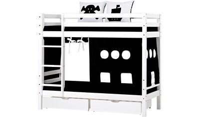 Hoppekids Etagenbett »Pirat«, inkl. Vorhang, 2 Matratzen und 2 Rollroste kaufen