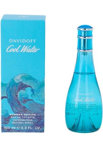 DAVIDOFF Eau de Toilette »Cool Water Summer«, (1 tlg.) kaufen